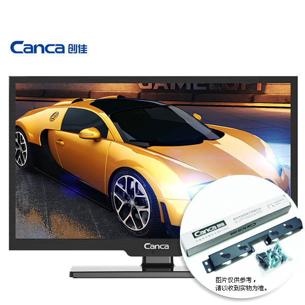 Free Shipping Canca 22inches TV Full HD HDMI USB AV RF VGA Multi Interface Monitor Eyecare