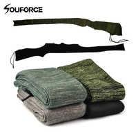 54 zoll Gun Socke Rifle Shotgun Polyester Silikon Behandelt Feuchtigkeits Gewehr Protector Shotgun Abdeckung Fall
