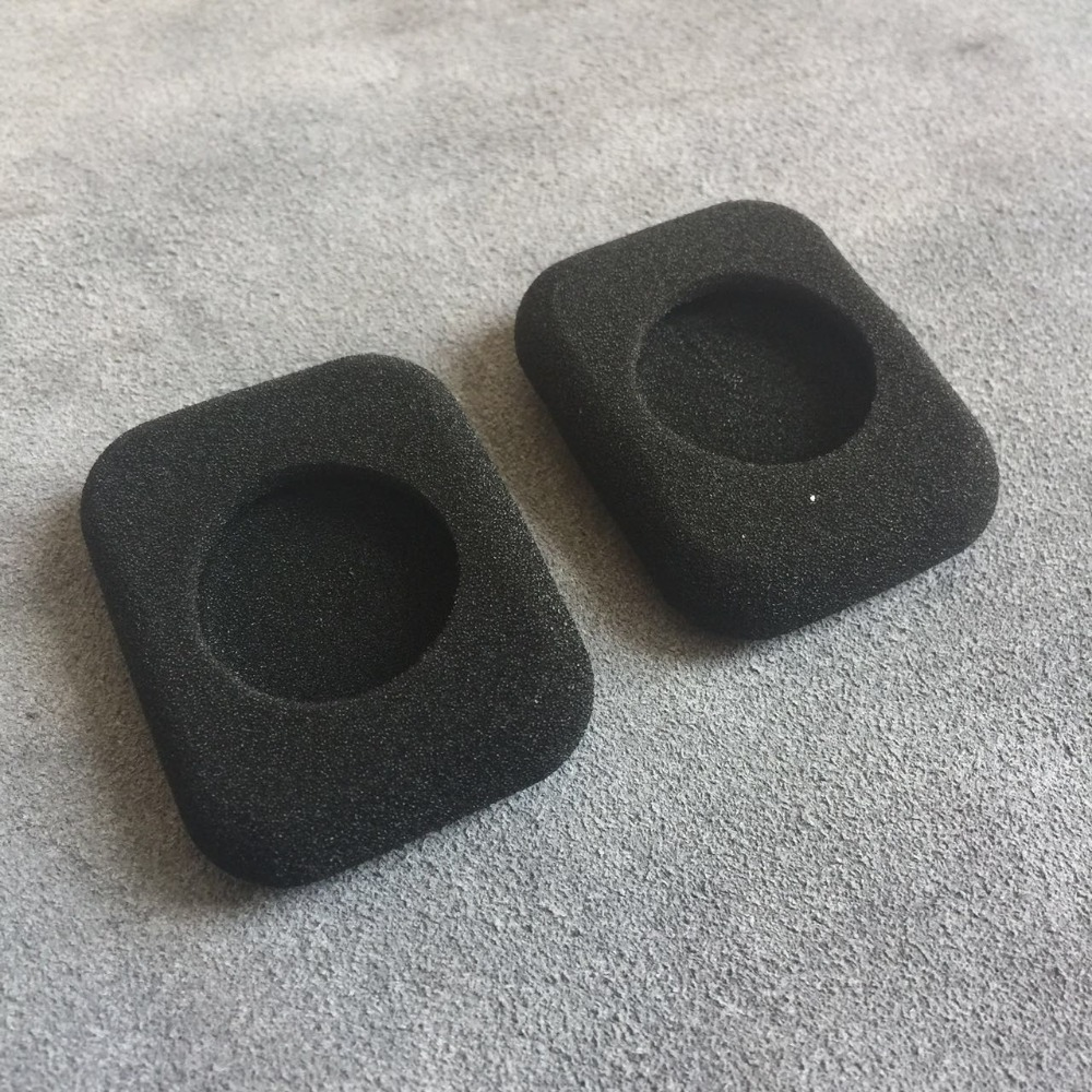 Ear Pads For Headphones FORM 2/2i Square Foam Eartips Thicken Ear Pad Earbud Sponge Covers Headphone Replacement Accessories