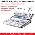 Бесплатная доставка KingKong 1024SI консоль сценическое освещение LED Par движущаяся головка точечное освещение контроллер профессиональная сцена ...
