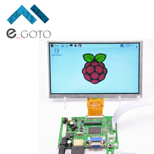 7″ inch HD 800*480 LCD Display Module Kit AV + VGA + HDMI Monitor for Raspberry Pi 2 Model B and Raspberry Pi B+ B A+.