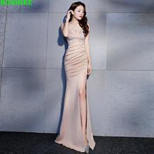 Vestidos Mujer Empire Summer Women Dress Vadim New Sexy Fashion Celebrities Long Fish Tail Thin Shop Night Show Ktv Dinner