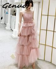 Genuo New Floor Lengthl 2019 Winter Dress Elegant Bodycon Sexy Party full Women Strapless Slash Neck Maxi Sequin Dresses