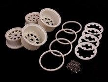 5B Nylon Super rueda de estrella con Beadlock anillo y tornillos Set x 4 unids para 1/5 Baja 5b, venta al por mayor y al por menor 85076