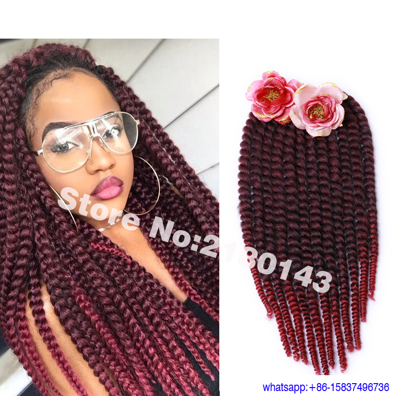 14 Inch Crochet Box Braids : Crochet twist tresses 14 pouces en Ligne ? des Grossistes Crochet ...