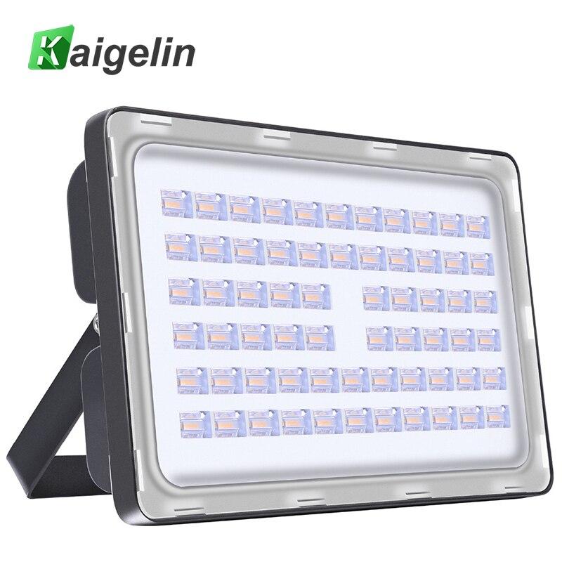 5 Pcs 200W LED Flood Light 220-240V 24000LM IP67 Waterproof Led Floodlight SMD2835 LED Spotlight For Outdoor Garden Lighting
