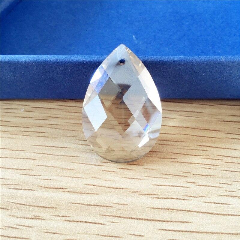 20pcs 38mm K9 Glass Crystal Prisms Pendants Chandeliers Parts Lustres Cognac Lamp Lighting Hang Drops Pendants