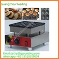 Chian kommerziellen 25 löcher mini pfannkuchen dutch poffertjes grill Poffertjes Grill maschine pfannkuchen waffel maker|Waffeleisen|   -