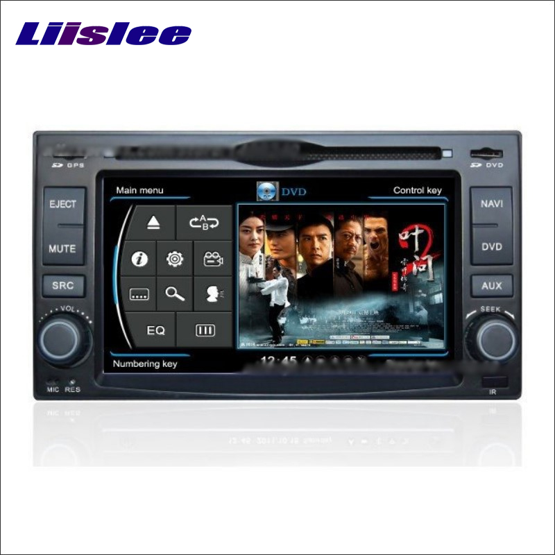 Liislee для Kia Rio 2006 ~ 2010 Радио CD dvd-плеер стерео ТВ Ipod HD Экран GPS nav Navi Географические карты навигации s160 мультимедиа Системы