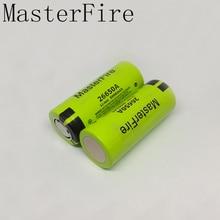 10pcs/lot 100% Genuine New Battery For Panasonic 26650A 3.7V 5000mAh High Capacity 26650 Li-ion Rechargeable Batteries цена в Москве и Питере