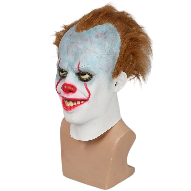 Coslive Pennywise Cosplay Mask Halloween Cosplay Helmet Costume Prop Fpr Men Adult 1