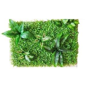 Image 4 - 60*40 cm falso artificial milão, plantas de parede, grama artificial, jardim doméstico, decoração vertical, fundo de casamento, decoração de parede