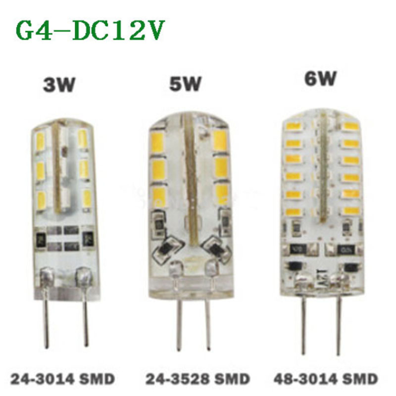 20w Smd Led 12v: ���‰10pcs/lot Led G4 3014 SMD ��� 3W 3W 5W 6W DC 12V ��� G4 G4