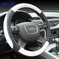 New Sport Luxury Car Steering Wheel Cover Seansons Environmental Non Slip Breathable Car Steering Wheel Cover