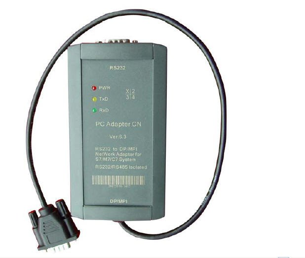 PC Adapter CN-fully support RS232 port of PC and HMI to PROFIBUS/MPI communication,used for S7-300/400 PLC 6ES7972-0CA23-0XA0 electronic garden water timer solenoid valve irrigation sprinkler solenoid valve garden irrigation controller watering system