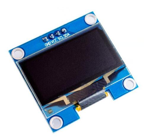 Free shipping 10PCS 1.3 OLED module blue color IIC I2C 128X64 1.3 inch OLED LCD LED Display Module For Arduino Connector