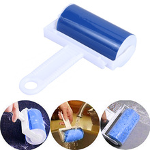 Washable Sticky Hair Cloth Lint Roller For Wool Dust Catcher Carpet Sheets Hair Sucking Sticky Lint Hair Cleaning Brush Roller