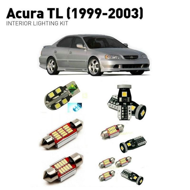 Led Interior Lights For Acura TL 1999 2003 13pc Led Lights