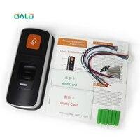 Alone RFID fingerprint zutrittskontrolle reader einzigen biometrische fingerabdruck zugriffssteuerung türschloss öffner auf