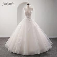 Fansmile robe De mariée princesse dillusion, robes De mariée, en grande taille, sur mesure, 2020