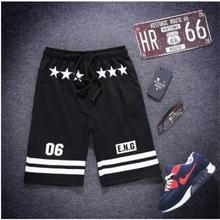 Мужские спортивные тонкие уличные спортивные штаны, свободные спортивные шорты в стиле хип-хоп для бега и занятий спортом, эластичные Бейсб...