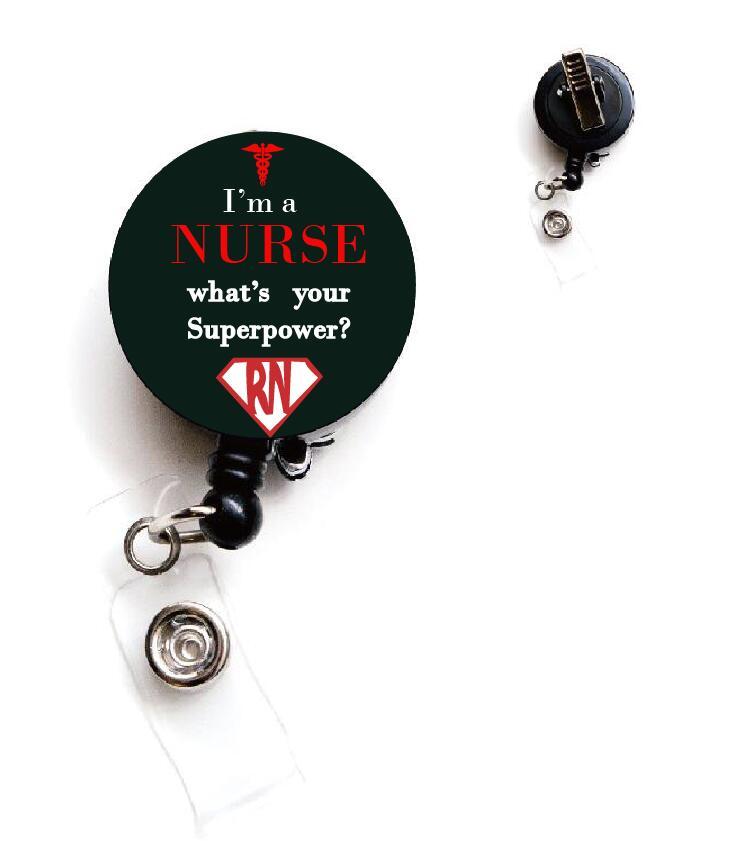 Зуб выдвижной держатель удостоверения личности для стоматолога, значок медсестры катушка, медицинский значок металлический зажим 10 шт./лот