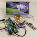 HDMI + DVI + VGA + Audio LCD controlador board + Tcon board + 7 polegadas AT070TN92 800*480 painel Lcd