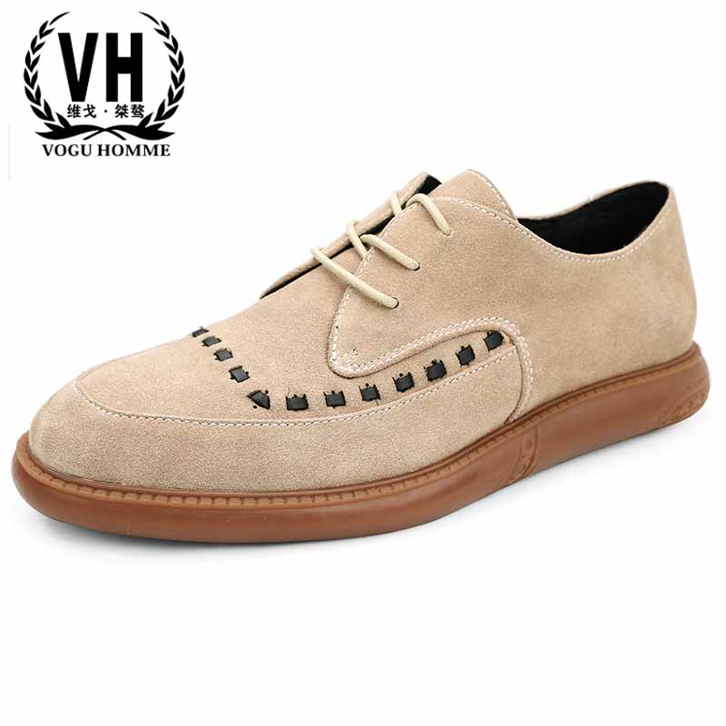 spring autumn men's Bullock real leather British fashion business casual shoes men British retro all-match cowhide men's shoes цена