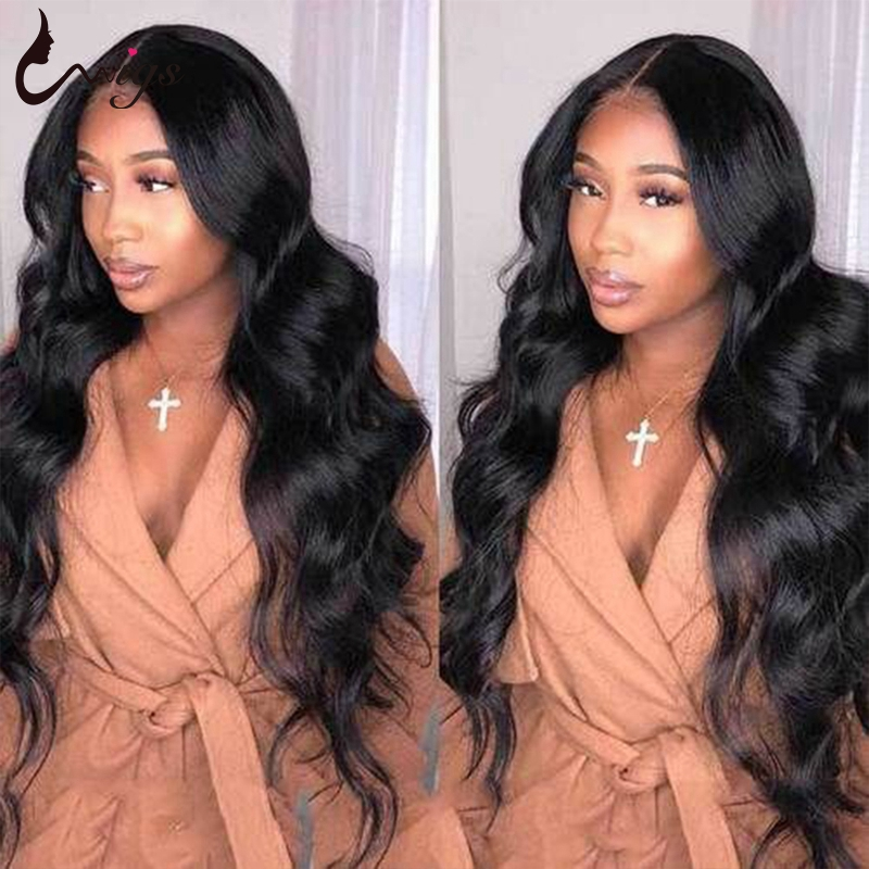 Lace Frontal Wig Pre Plucked With Baby Hair Brazilian Body Wave Wig Lace Front Human Hair Wigs For Black Women Remy Hair