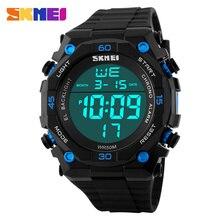 Hommes numérique montres homme Sport Montre LED Montres bracelet en caoutchouc de natation de course chronographe horloge relogio masculino SKMEI Marque