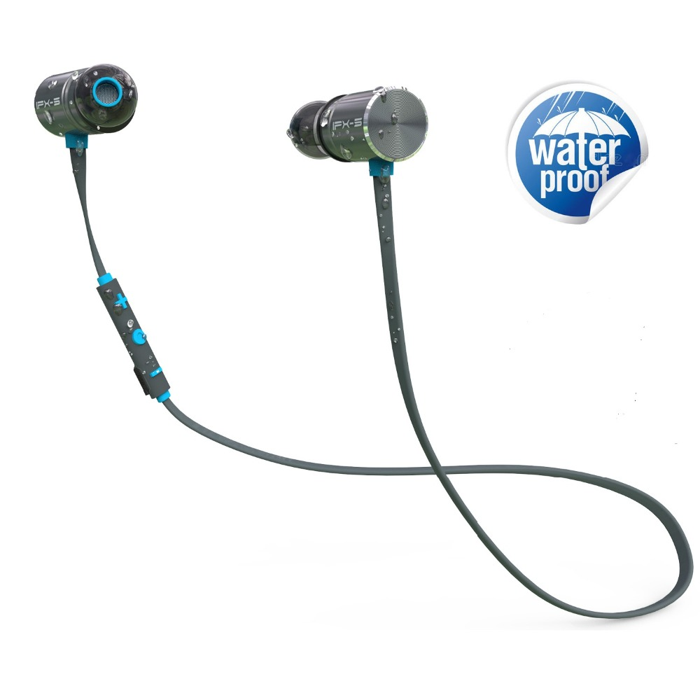Plextone BX343 Bluetooth Headphone IPX5 Waterproof Wireless Headset  Earbuds with MIC for iOS android Phone MP3 Earphone