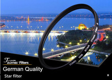 Professional Zomei 67mm 8 Line Star Filter ND Fitlers Evening Photos Shine Light FiIters Lens for Canon Nikon Sony Camera Lens