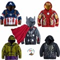 Мальчики мстители дети куртки и пальто детская верхняя одежда и пальто супер герой капитан америка куртки детская одежда