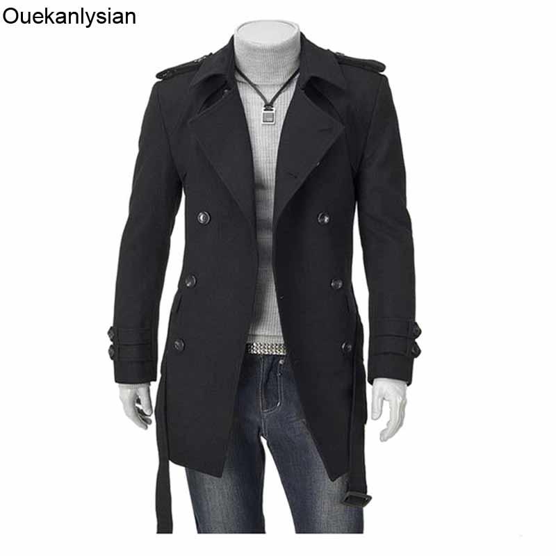 Popular Mens Pea Coat Slim Fit-Buy Cheap Mens Pea Coat Slim Fit ...