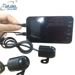 Image 3 - Relee 오토바이 전자 dvr 대시 캠 1080 p 방수 오토바이 카메라 gps dvr 모터 보안 와이파이 카메라 블랙 박스 dvr