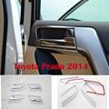 8 UNIDS Cromo Interior Manija de La Puerta Para Toyota Land Cruiser Prado FJ 150 Accesorios