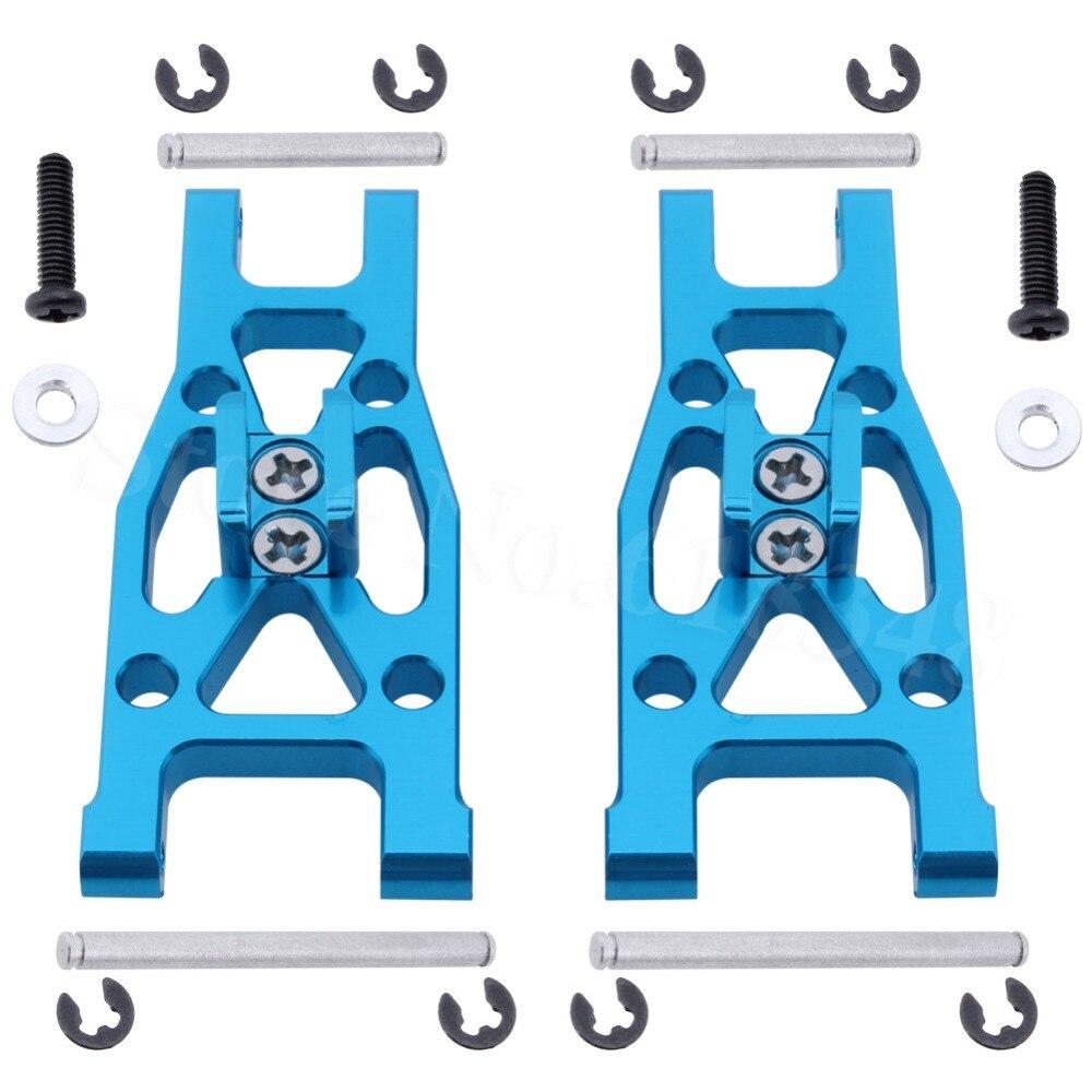 Aluminum Front Lower Suspension Arm 2P L/R L959-03 For WLtoys L959 L969 L979 L202 K959 1/12 Scale RC Car Upgrade Parts