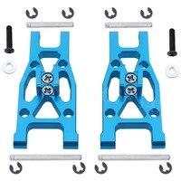 Aluminum Front Lower Suspension Arm 2P L/R L959 03 For WLtoys L959 L969 L979 L202 K959 1/12 Scale RC Car Upgrade Parts|suspension arm|rc car parts|rc parts -