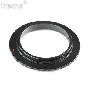 """Image 1 - 49/52/55/58/62/67/72/77 מ""""מ מאקרו עדשה הפוך מתאם טבעת עבור Canon EOS 1200D 1100D 760D 750D 700D 600D 650D 70D 5DII 7D DSLR"""