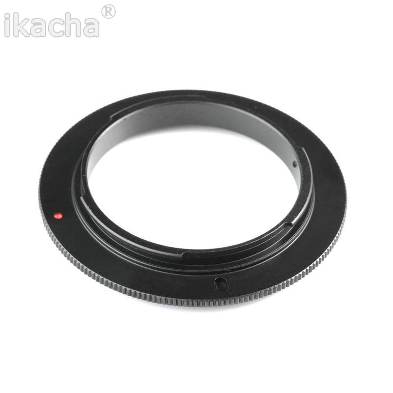 49/52/55/58/62/67/72/77mm Macro Lens Reverse Adapter Ring For Canon EOS 1200D 1100D 760D 750D 700D 600D 650D 70D 5DII 7D DSLR