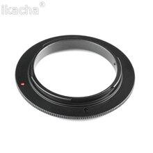 Adaptador reverso da lente macro, 49/52/55/58/62/67/72/77mm anel para canon eos 1200d 1100d 760d 750d 700d 600d 650d 70d 5dii 7d dslr