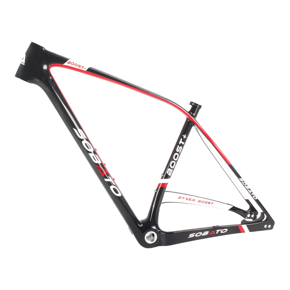 29 Plus/29er/ 27.5 Plus Carbon Frame MTB Carbon Frame 148*12mm Thru Axle for BB92 bottom bracket China New MTB Bike plus