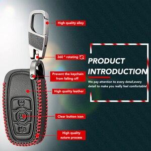 Кожаный чехол для ключей Great Wall Haval H6 C50, брелок, аксессуары, 3 кнопки, Ucarkey, умный магазин