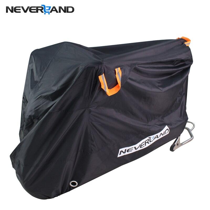 210D haute qualité imperméable à l'eau en plein air Moto Moto couverture électrique vélo couvre moteur pluie manteau poussière adapté à tous les moteurs
