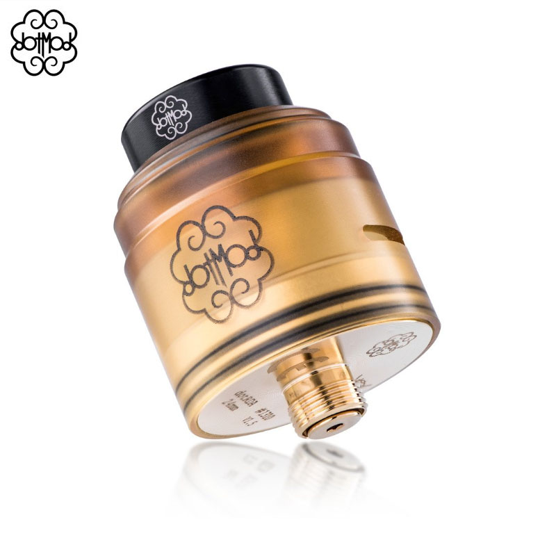 Image 4 - Original dotRDA 24mm V1.5 RDA Dotmod RDA plated in 24k gold 