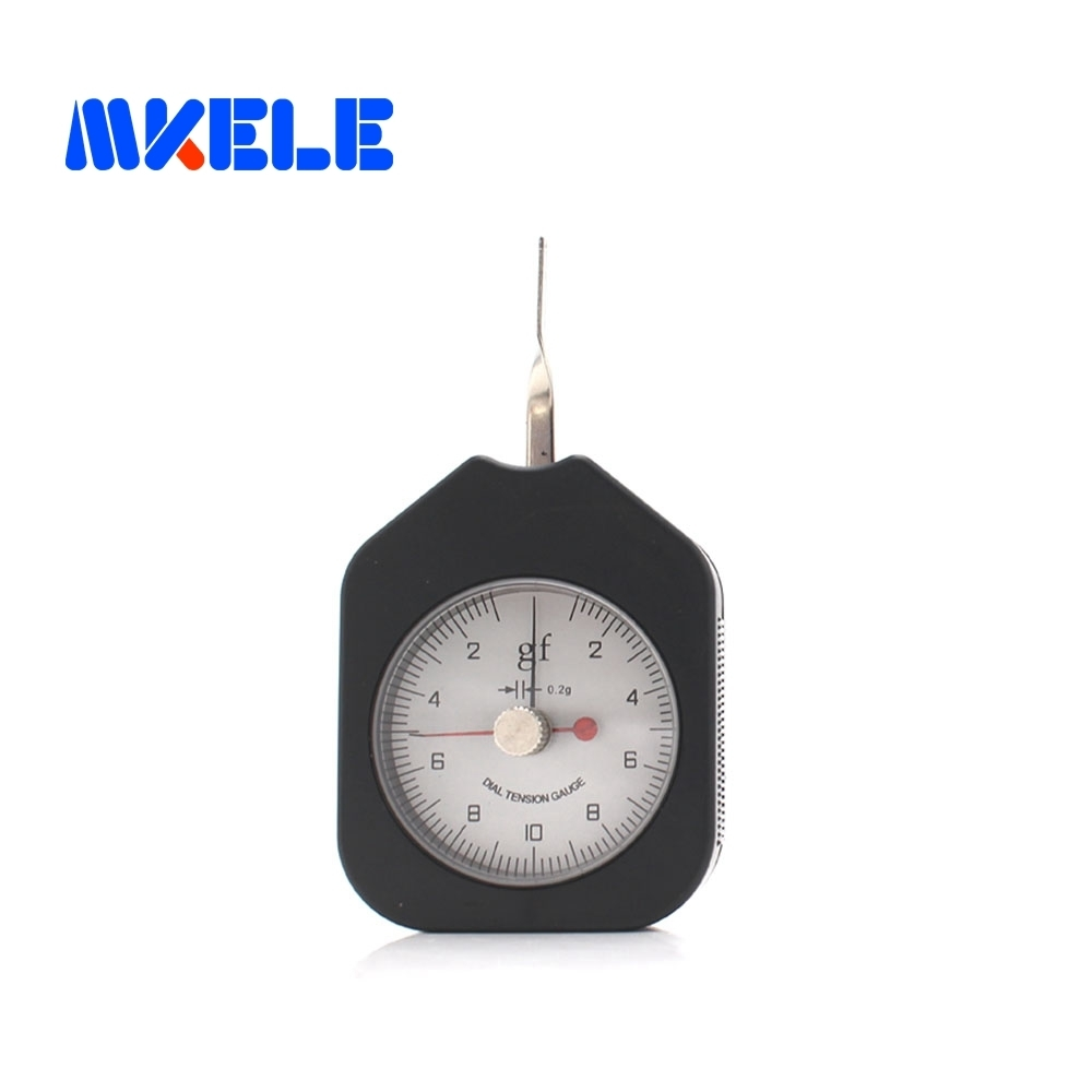 SEG-10-2 10g  Tensiometer  Analog Dial Gauge Double Pointer Force Tools Tension Meter