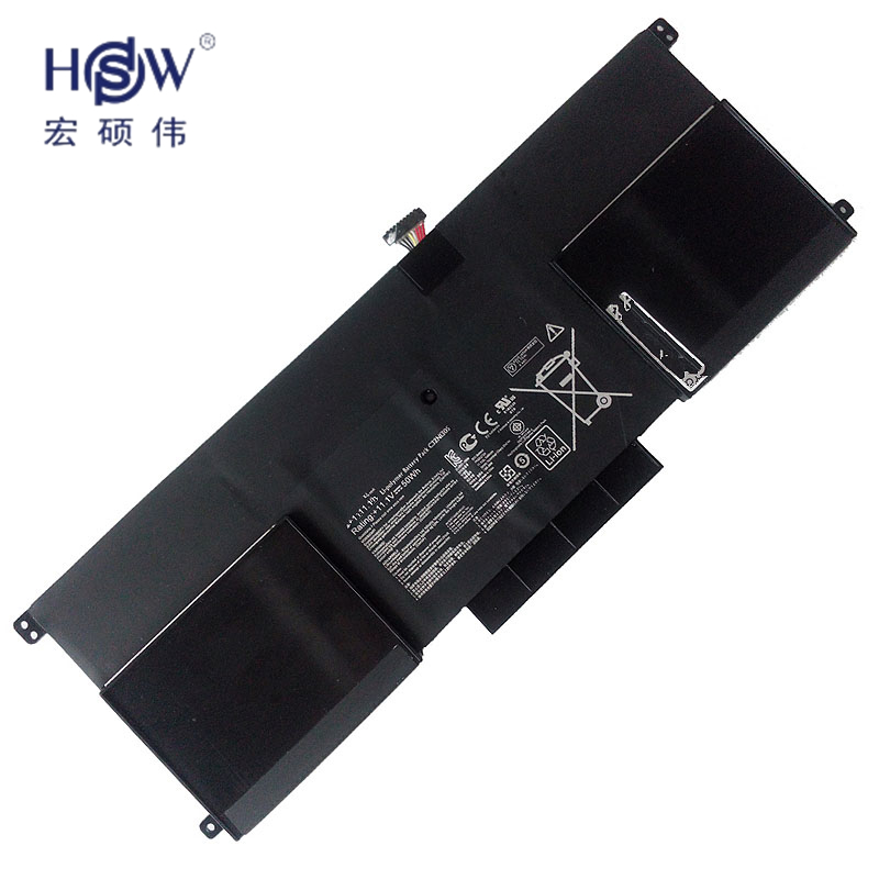 HSW New 50Wh  C32N1305 Battery for ASUS Zenbook Infinity UX301LA Ultrabook Laptop bateria akku new laptop keyboard for asus g74 g74sx 04gn562ksp00 1 okno l81sp001 backlit sp spain us layout