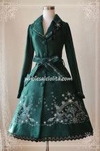 PrincessTea Party Winter Flake Embroidery Lolita Coat s Lolita Channel For Sale