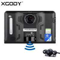Xgody 7 Capacitive Screen Android 4 4 Vehicle GPS Navigation Truck Car GPS Navigator 8G 1080P