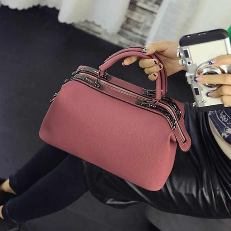 65b403dead 2018 Women Fashion casual Boston handbags women evening clutch messenger bag  ladies party famous brand shoulder